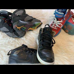 Kids 13c Jordan's and Labron's
